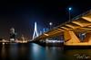 Erasmusbrug (Paul Nagels) Tags: night erasmusbrug brigde water nightexposure
