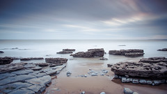 Time at the Beach (robdando) Tags: wales beach longexposure lee nikon rocks seashore shoreline tide landscape sea dunraven bay dunravenbay