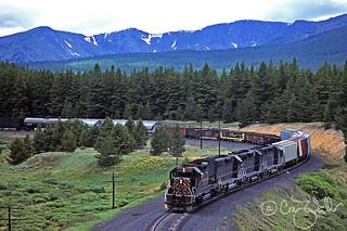 DRGW 5341 - Leadville CO - 09/91