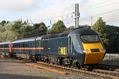 43107+43111 (Cumberland Patriot) Tags: gner great north eastern railway inter city 125 ic intercity125 ic125 intercity hst high speed train br british rail brel engineering limited ltd paxman valenta diesel engine power car class 43 43107 43111 dieselelectric motive traction unit wcml west coast main line caldew junction carlisle cumbria diverted diversions london kings cross express passenger trains