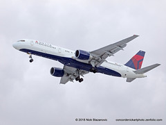 Delta Airlines Boeing B-757-200 (ConcordeNick ArtPhoto) Tags: boeing aircraft airplane airliner aviation transport transportation travel flight flying concordenickartphoto concordenickartphotozenfoliocom olympus e5 delta deltaairlines boeingb757 boeingb757200 b757200 b757