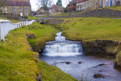 Waterfall, Hutton-Le-Hole (Kingsley_Allison) Tags: huttonlehole yorkshire northyorkshire folkmuseum museum historic historical horses nikon nikond7200 unitedkingdom uk waterfall water beck river stream