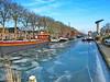 The ice is broken 2 (Mattijsje) Tags: ice ijs schaatsen schaatsweer koud cols weather weer minus ondernul vorst frost inthedutchmountains holland nederland netherlands nederlands hollandstafereeltje winter winterpret skating skate brrr