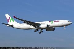 EC-MNY   Airbus A330-243   Wamos Air (james.ronayne) Tags: ecmny airbus a330243 wamos air aeroplane airplane plane aircraft aviation jet jetliner airliner london gatwick lgw egkk canon 80d 100400mm raw