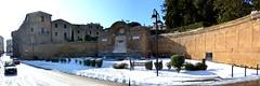 Grotte di Castro, monumento Fontana Grande e la neve di febbraio 2018. (oscar.martini_51) Tags: grotte di castro tuscia monumento fontana grande neve