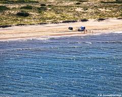 Enjoying an Uncrowded Beach at the Cape Hatteras National Seashore NC (PhotosToArtByMike) Tags: outerbanks beach capehatterasnationalseashore uncrowdedbeach obx dunes sanddunes aerialview northcarolina bodieisland private nc outerbanksnorthcarolina usnationalparkservice darecounty