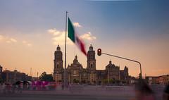 Mexico City (miguenfected) Tags: cdmx df bandera mexico ciudad catedral latinoamericana soldado bellas artes palacio centro