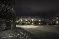 A Welcome Sight (unciepaul) Tags: pub house snow marholm welcome drink cold winter lights longexposure lightroom sony a6000 16mm 14 worth waiting for enjoy