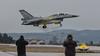 F-16D landing (Eλληνικά Φτερά - Hellenic Wings) Tags: hellenicairforce haf πολεμικήαεροπορία f16