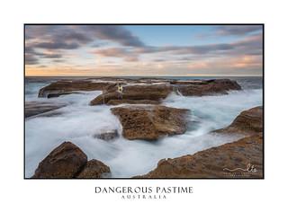 Dangerous Recreation Rock Fishing