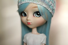 Isobel (Blublue) Tags: blublue pullip doll poupée groove jun planning père noël blue bleu almond almonddoll almonddollart white blanc