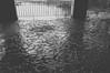 after the flood (RubyT (off to see kids & grandkids)) Tags: pentaxkp sigma1020 reflection mud bw bn nb noirblanc blancoynegro schwarweiss blackandwhite pentax pentaxart черноеибелое