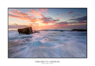 Turimetta rock flows from outer reef