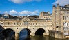 Pulteney Bridge, Bath (bart7jw) Tags: bath bridge river avon sky sun white clouds canon 700d eos t5i sigma 18250