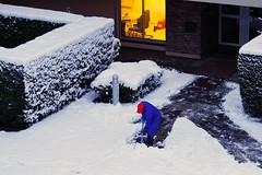 Déneigement matinal (renécarrère) Tags: déneigement neige hiver
