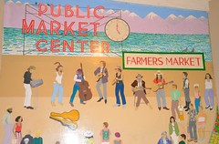 Pike Place 33 (Krasivaya Liza) Tags: pike place market pikeplace pikeplacemarket flowers fish veggies stalls vendors fruit seattle wa washington state pac northwest pacific puget sound waterfront city urban cityscape street streets art snow snowy winter feb 2018