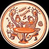 Beer Coaster Sweet Adeline (sdwalden6) Tags: beer coaster vintage sweetadeline happydays bowlerhat beerbarrel dog advertising beermugs sepia brown orange revelers illustration 1910s 1900s pretzel pretzle beerculture alcohol advertrisement old antique retro german