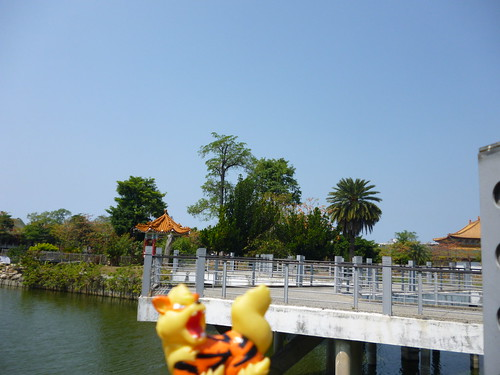 Arcanine in Zuoying, Kaohsiung 21 (Lotus Pond)