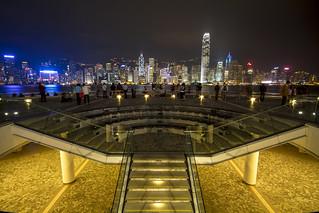 Kowloon stairway to Hong Kong