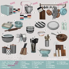 MudHoney kitchen clutter for PocketGacha (PocketEvents) Tags: