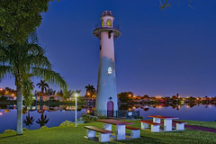 Estates of Fort Lauderdale Lighthouse, 2850 SW 54th St, Fort Lauderdale, Florida, USA (Jorge Marco Molina) Tags: longexposure bluehour bluesky lake reflection fortlauderdale ftlauderdale city cityscape urban downtown skyline browardcounty southflorida density centralbusinessdistrict skyscraper building architecture commercialproperty cosmopolitan metro metropolitan metropolis sunshinestate realestate veniceofamerica newriver lauderdalebythesea estatesoffortlauderdalelighthouse 2850sw54thst florida usa mobilehomepark