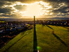Long Shadows... (Darren Flinders) Tags: sun sunset drone dronephotography phantom4 djiphantom4drone clouds cloudporn sunflare sunny winter fields shadows wintersunset hdr aurora2018