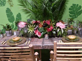 Chicago, Navy Pier, Chicago Flower and Garden Show, Dinner for Two