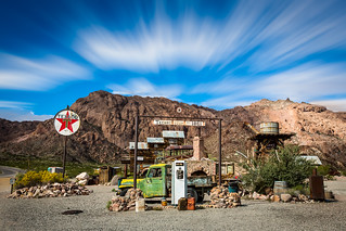 Abandoned Gas Station, Techatticup, Nevada