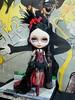 Lautrec di Szani (Wivi Szani) Tags: custombyrobertoszaniecki outfitbywiviszaniwilmagarcia blythe dolls custom fashion outfit handmade meias corset paris lautrec bohème maisonszani vermelho