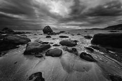Release (Keith Midson) Tags: hinsby beach taroona tasmania rocks coast shore shoreline water derwentriver australia sky flow