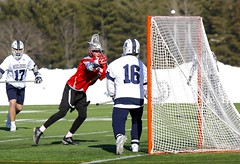 How did he miss that? (stephencharlesjames) Tags: college sports ball sport ncaa lacrosse action middlebury vermont plattsburgh