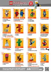 LEGO 71021 Minifigs à collectionner série 18 guide tatage HelloBricks (hello_bricks) Tags: lego 71021 minifigs collectionner 18 guide tatage hellobricks cmf collectibleminifigures minifigures