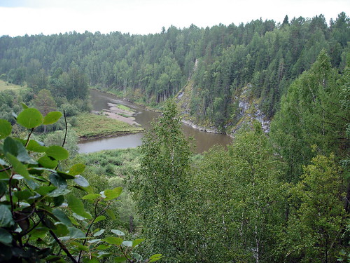 Вид в Оленьих ручьях