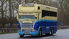 R111 RWA (panmanstan) Tags: scania g480 wagon truck lorry commercial transport vehicle a63 everthorpe yorkshire