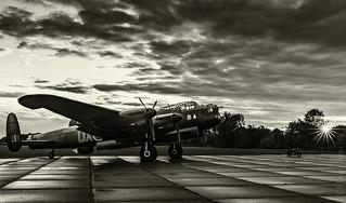 Lancaster bomber - Just Jane
