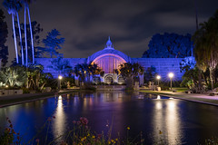 Reflection In The Lily Pond (Chuck - PhotosbyMCH.com) Tags: photosbymch nightscape cityscape botanicalbuilding lilypond balboapark sandiego california usa reflection canon 5dmkiv 2017 night nightsky outdoors