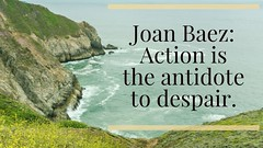 International Women's Day (Jill Clardy) Tags: international womens day spark post joan baez quote actionistheantidotetodespair 365the2018edition 3652018 day67365 08mar18 devils slide trail pacifica pacific ocean foggy cliffs explore explored