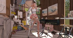 hobby room (nicandralaval1) Tags: hive meshindia salacity lode collabor88 theliaisoncollaborative freebies maitreya secondlife secondlifefashion lelutka bento decor decorate skinfair dulcesecrets maci storiescobyflowey luxebox prtty caboodle etnia scarletcreative home homes jian animals thearcade fd cat dog bubble bazar anggyrasmuson laurageniaviper karthikeyanengineer floorplan serenitystyle tarte tree plaaka keke keis rsw
