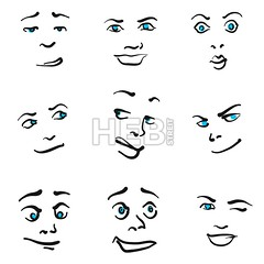 Nine Impressive Emoticon icons (Hebstreits) Tags: angry art background black caricature cartoon character cheerful collection comic cute design doodle drawing element emoticon emotion emotions expression expressions eye face faces facial fun funny graphic group happiness happy head human humor icon illustration isolated man people person sad set sign sketch smile smiley style symbol vector white