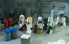 Delta Squad (Ben Cossy) Tags: boss sev scorch fixer clone commando lego moc afol tfol minifigures cac army custom customs minifig fig figures star wars