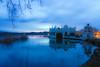 Blue Hour (jocsdellum) Tags: bluehour horaazul horablava llac estany lago lake banyoles girona aigua water agua reflexes reflejos nocturna albada sunrise calma calm serenidad serenity earlymorning siensllevembendhora bendhora