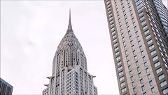 Chrysler Cloud Time Lapse (Michael.Lee.Pics.NYC) Tags: newyork chryslerbuilding artdeco landmark skyscraper architecture building clouds timelapse video motion reflecton sony a7rm2 fe24105mmf4g