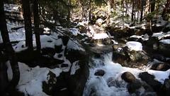 Index Creek crossing (johnwporter) Tags: hiking scramble snowshoe cascades mountains nationalforest mtbakersnoqualmienationalforest meltedmountain 徒步 爬行 雪鞋行 喀斯喀特山脈 山 國家森林 貝克山史諾夸米國家森林 融化山 video 影片