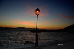 loutraki 1 (g_athens [swaping]) Tags: loutraki athens greece dusk sunset sea boats sky port ελλάδα λουτράκι ηλιοβασίλεμα θάλασσα φώτα