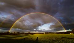 Regenbogen am Niederrhein.. (st.weber71) Tags: nikon nrw niederrhein natur deutschland d850 farben felder regenbogen regenwolken beauty himmel rainbow uww tamron1530f28 outdoor landschaft landscape germany