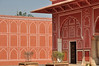 City Palace, Jaipur (bruno vanbesien) Tags: bharat india jaipur rajastan door palace reflection rajasthan in
