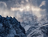 Veil of Light (Dwood Photography) Tags: veil light veiloflight dolomites italy 2018 mountains snow ice rays dwoodphotography dwoodphotographycom