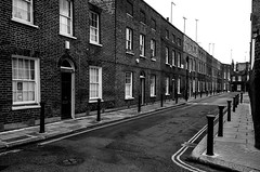 . (robbie ...) Tags: uk london street brick built workers houses bridge fuji xt10