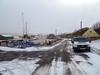 St Andrews harbour, 2018 Feb 28 (Dunnock_D) Tags: uk unitedkingdom britain scotland fife standrews snow shorehead harbour road grey cloud cloudy sky