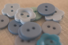 button button who's got the button (abbigail may) Tags: theblues macromondays blues button blue macro many flower shapes holes round differentshadesofblue nikon